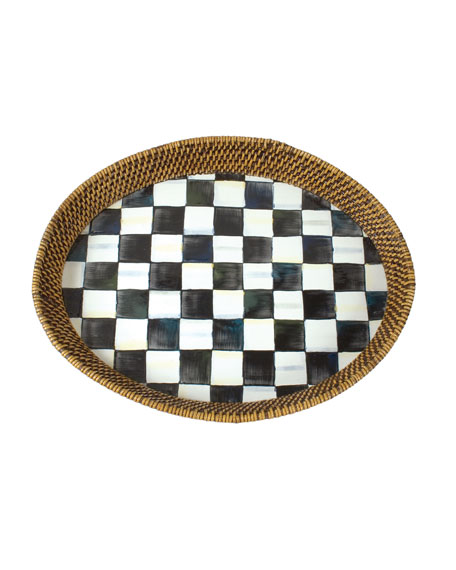 Courtly Check Tray