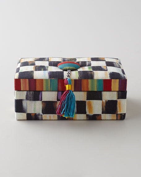 COURTLY CHECK JEWELRY BOX