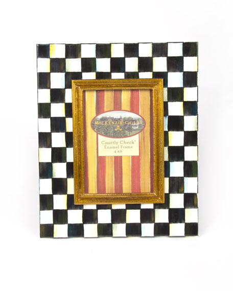 Medium Courtly Check Photo Frame