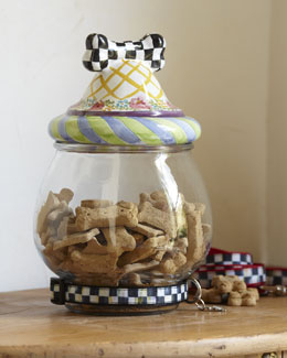 MacKenzie-Childs Treat Jar