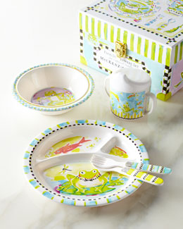Frog Toddler Dinnerware Set
