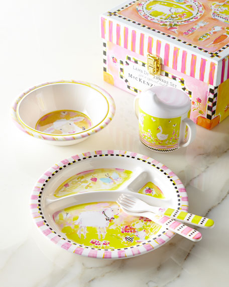 sc 1 st  Horchow & MacKenzie-Childs Lamb Toddler Dinnerware Set