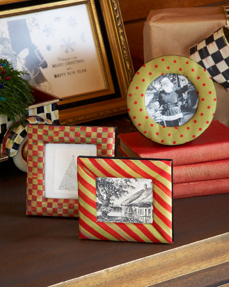 Red & Green Holiday Frame Set