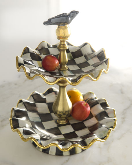Courtly Check 2-Tier Stand