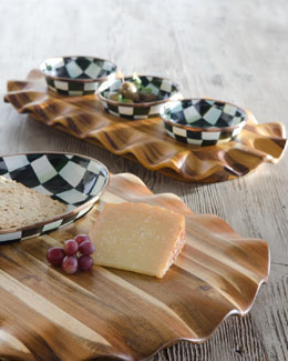 MacKenzie-Childs Courtly Check Relish Set