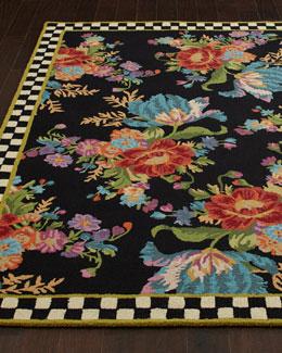Flower Market Rug, 9' x 12'