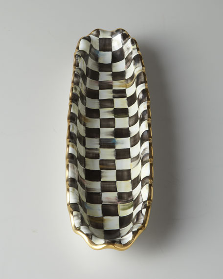 Courtly Check Hors D'oeuvre Tray