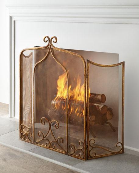 Simone Fireplace Screen