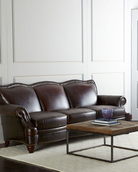 Ruidosa Leather Sofa