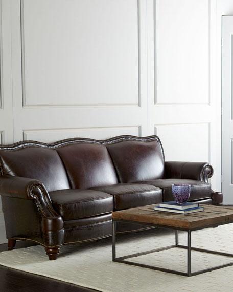 Ruidosa Leather Sofa