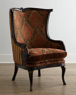 Massoud Gretchen Wing Chair