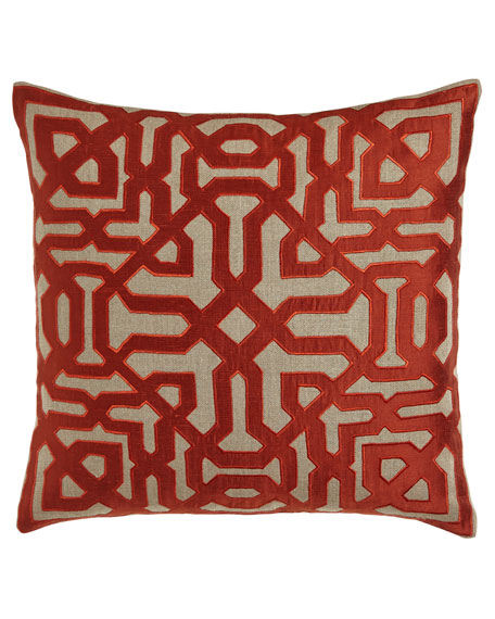 Marrakesh Maze Pillow