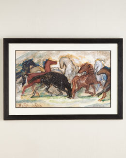 """The Long Gallop"" Giclee Print"
