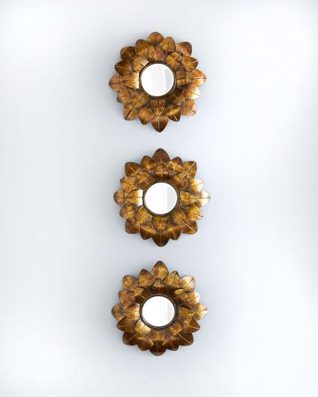 Golden Sunflower Mirror