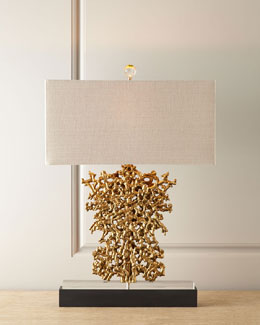 John-Richard Collection Gold Rush Lamp