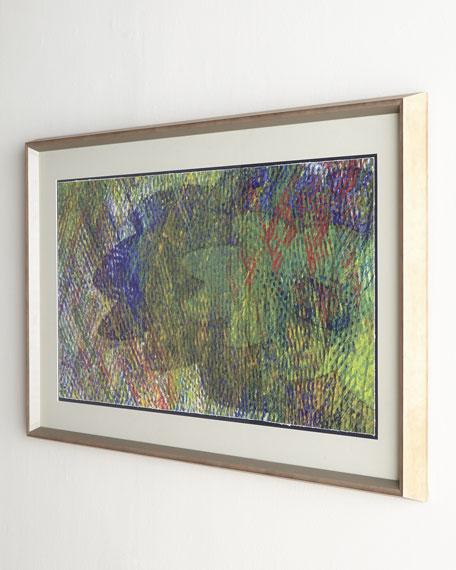 """Kaleidoscope"" Abstract Print"