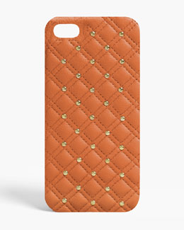 The Case Factory Studs Nappa iPhone 5/5s Case