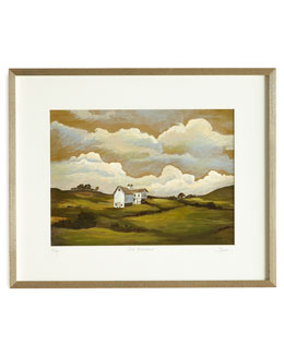 Landscape I (Barn) Print