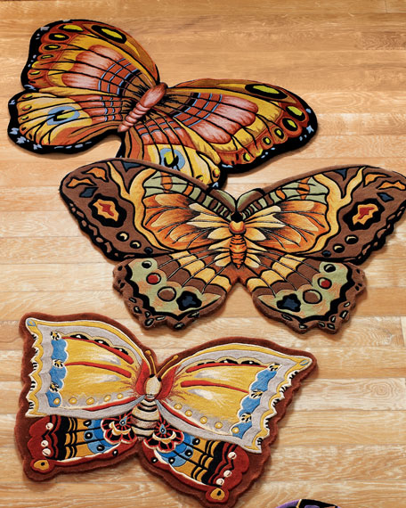 Butterfly 4' x 6' Rug