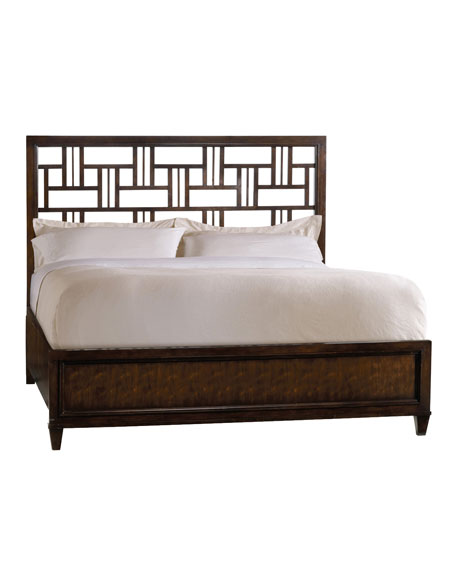 Dena Fretwork Queen Bed
