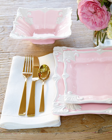 Rose Gold Wedding Plates