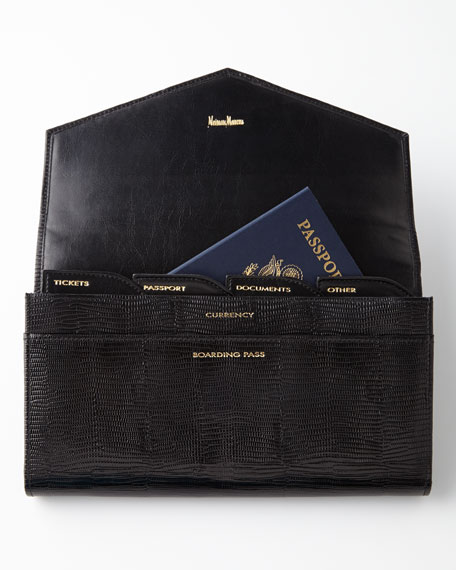 Black Travel Wallet