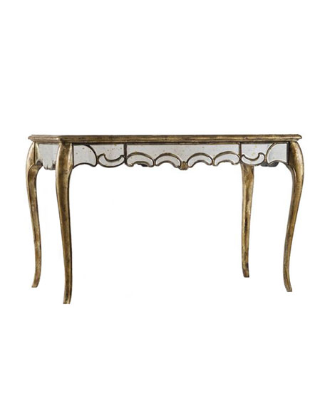 Hooker Furniture Briganti Mirrored Writing Desk