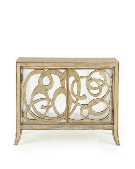 Oleda Mirrored Cabinet