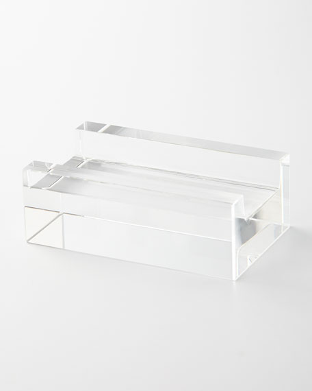Optical Glass Painting Stand