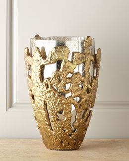 John-Richard Collection Molten Lace Vase