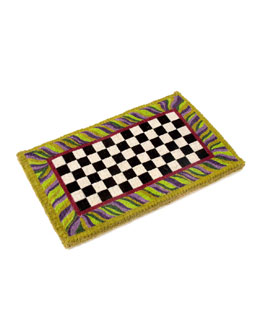 MacKenzie-Childs Courtly Check Entrance Mat