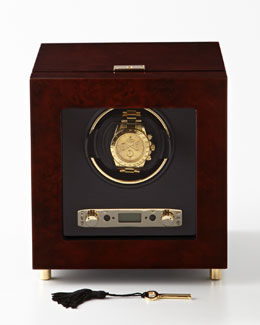 Wolf Designs Burlwood Single Watch Winder