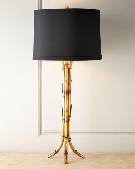 """""""Bamboo"""" Tripod Lamp"""