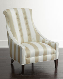 Lindy Stripe Chair