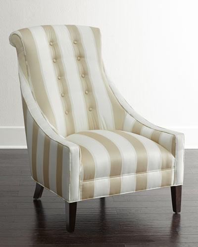 Lindy Stripe Chair