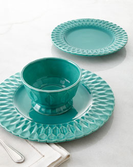 "Destinos 12-Piece ""Quilted"" Dinnerware Service"