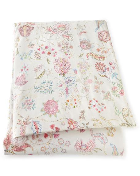 """Full/Queen Mirabelle Botanical Duvet Cover, 86"""" x 86"""""""