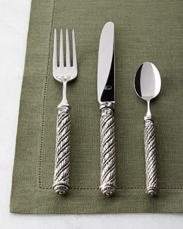 ValPeltro Five-Piece Genova Flatware Place Setting