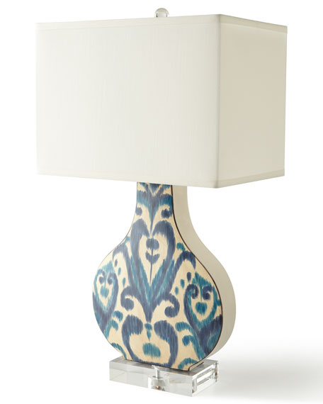 Greystone Indigo Lamp