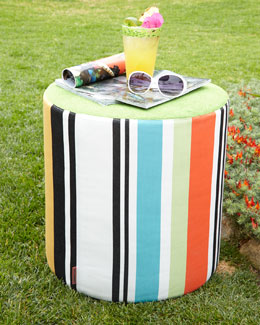 Missoni Home Collection Olivan Stripe Pouf