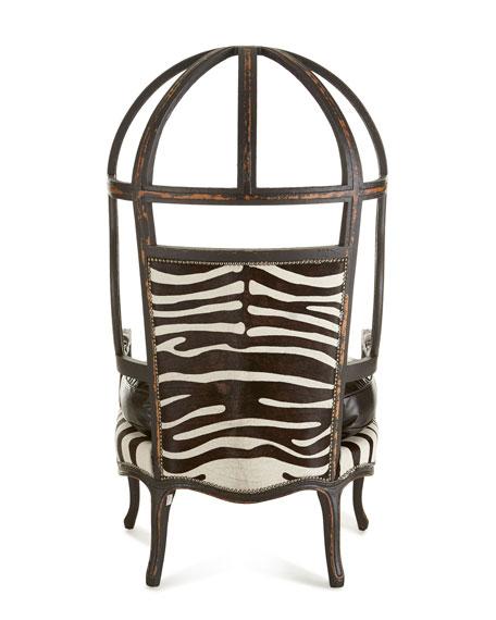 Zebra Balloon Chair