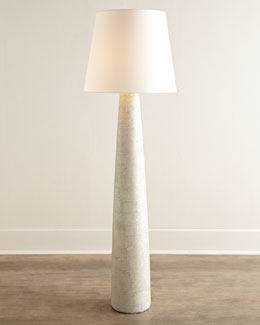Vada Pearlescent Porcelain Floor Lamp