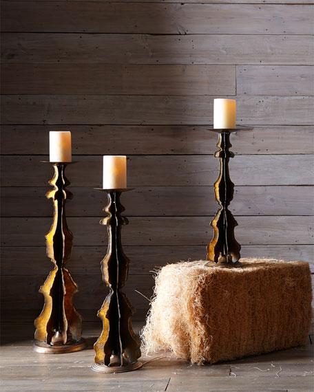 Three-Piece Alden Candlestick Set