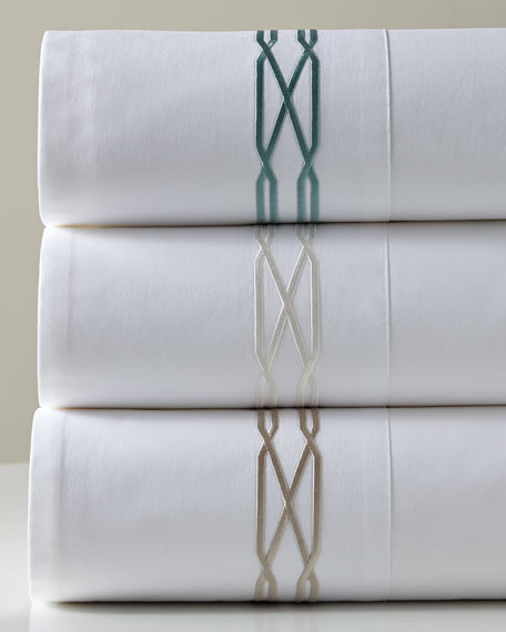 Queen 300 Thread Count Vendome Sheet Set