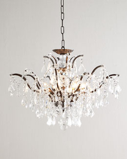 Crystorama Lianne Convertible Chandelier