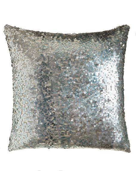 Thalassa Sequined Pillow