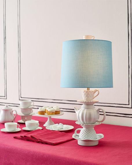 CERAMIC TEACUP LAMP