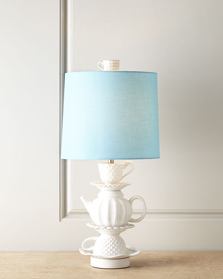 CERAMIC TEACUP LAMP