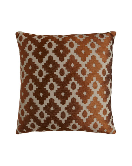 Diamante Embroidered Pillow
