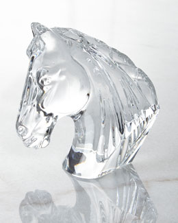 Waterford Horse Head Figurine